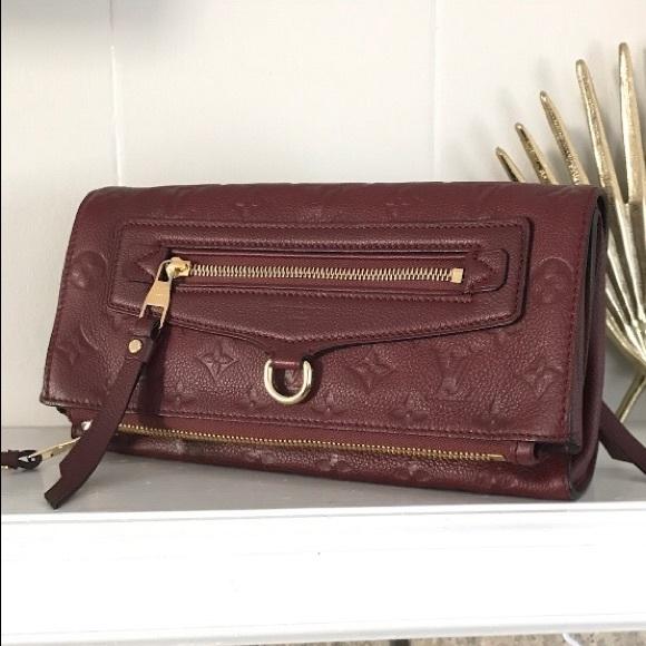 ddbc19da1e82 Louis Vuitton Handbags - Louis Vuitton Empreinte Petillante Clutch